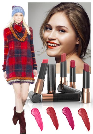 2016: Barras de labios de colores vibrantes