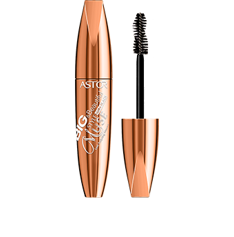 This ingenious mascara is also a beautiful object . The curvaceously-shaped pack of the Big & Beautiful Style Muse Lash Sculpting Mascara is an opulent bronze colour that exudes sophisticated style. The striking design is enhanced by pure white graphics that sweep across the pack. As an added chic touch, the word 'Muse' is written in an ornate font to suggest style and creativity.