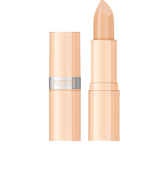 An all nude packaging associated with silver details to have in hands an elegant Coverstick Face Concealer