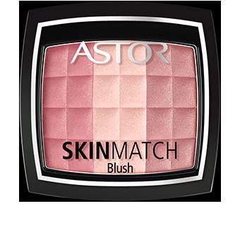 Stworzone by być piękne i praktyczne, czarne opakowanie różu SkinMatch z przezroczystą pokrywką skrywa w sobie poręczny pędzelek. Kosmetyczny must-have!