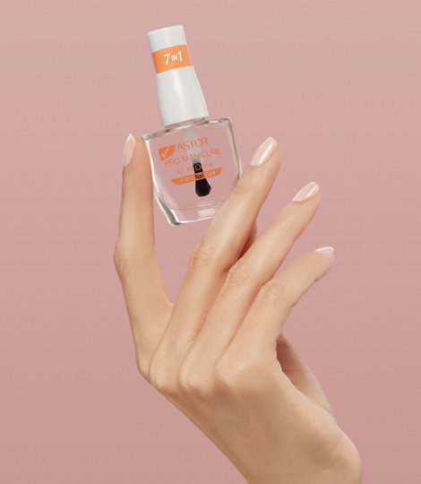 All-in-one nail care product - the perfect base for a perfect manicure with Astor Pro-Manicure 7-in- 1