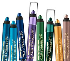Try the Perfect Stay 24H Eye Shadow + Liner Waterproof soft and feel texture with highly pigmented colors.