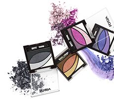 Each palette of EyeArtist Eye Shadow Palette perfectly combines colors that will show off your eyes:1 Highlighter - 2 main colors - 1 Eyeliner From classic to bold and fresh look, enjoy a palette of possibilities!