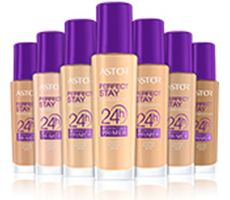 You get all the combined benefits of a primer and a foundation in one. Finally, comfort, perfect coverage and long-wear come together with Perfect Stay 24H Foundation + Perfect Skin Primer