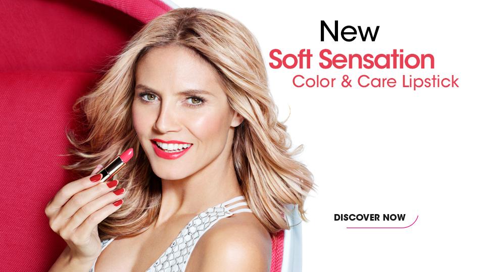 Soft Sensation Color & Care Lipstick