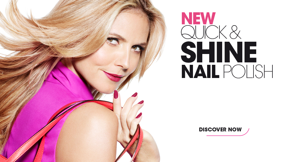 Quick & Shine Nail Polish